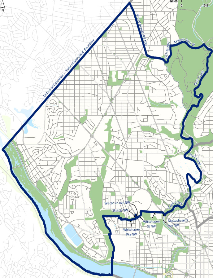 Ward 3 D.C. Councilmember Mary Cheh » Ward 3 Dc Wards Map on